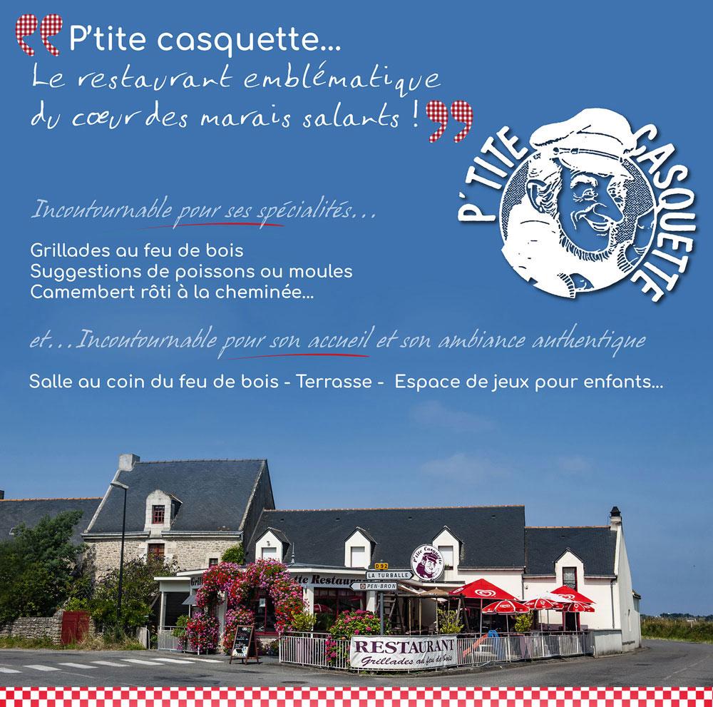 Restaurant Grill La Turballe - La P'tite Casquette